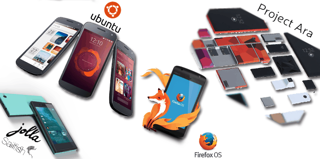 Ever heard of Ubuntu Phone? What about FirefoxOS or Sailfish?